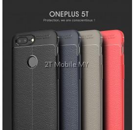 OnePlus 5T 1+5T Dermatoglyph Case Matte Anti-Fingerprint Bumper Cover