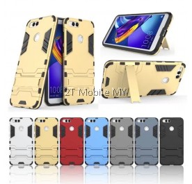 Huawei Honor 7X Ironman Transformer Kickstand Standable Case Cover Bumper