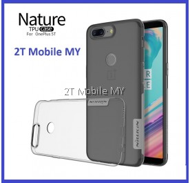 OnePlus 5T 1+5T Nillkin Nature Case Transparent Slim Cover