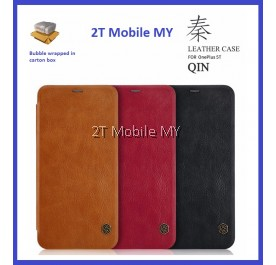 OnePlus 5T 1+5T Nillkin Qin Leather Flipcase Cases Luxury Wallet Business