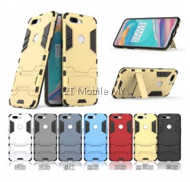 (PROMO) OnePlus 5T 1+5T Ironman Transformer Kickstand Standable Case Cover Bumper