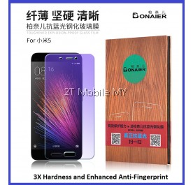XiaoMi Mi5 Anti Bluelight Twin Pack BONAIER 2.5D Tempered Glass Screen Protector