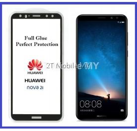 Huawei Nova 2i Full Glue Coverage Colour Tempered Glass Screen Protector