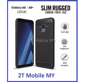 Samsung Galaxy A8 / A8 Plus 2018 Ultra Slim Protection Rugged Armor TPU Case