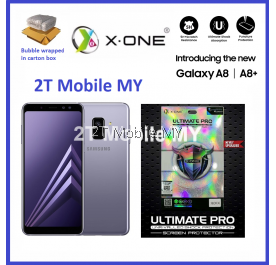 Samsung A8 / A8 Plus 2018 X-One Ultimate Pro Shock Absorption Screen Protector