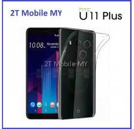 HTC U11 Plus U11+ Soft Transparent Case Slim TPU Cover