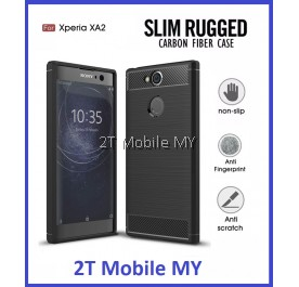 Sony XPeria XA2 Slim Protection Rugged Armor TPU