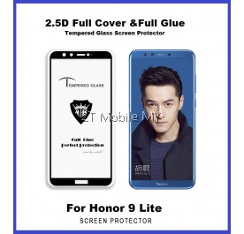 Huawei Honor 9 Lite Full Glue Tempered Glass Screen Protector
