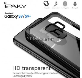 Samsung S9 / S9 Plus iPaky Tough Protection Transparent Case Bumper Cover