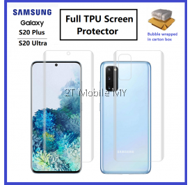 Samsung Galaxy S20 Plus / S20 Ultra / S20+ / S9 / S9 Plus 3D Curved Edge Full Body Screen Protector