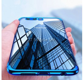 Huawei Honor 9 Lite Trendy Electoplating Edge TPU Cover Bumper Case