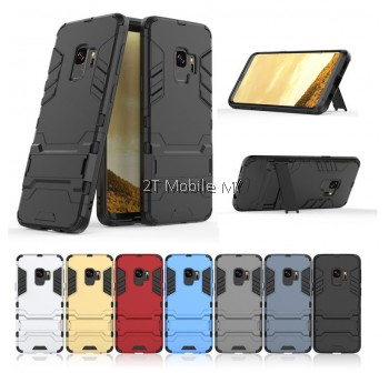 (PROMO) Samsung S9 / S9 Plus Ironman Transformer Kickstand Case Bumper Cover