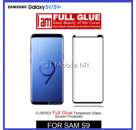 Samsung S9 / S9 Plus Full Glue Tempered Glass Screen Protector 3D Adhesive Curve