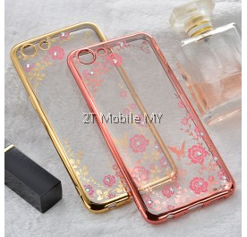 Oppo A83 Diamond Secret Garden TPU Case Cover Bumper