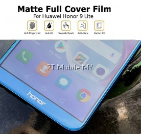 Huawei Honor 9 Lite Matte Anti-Fingerprint Full 3D Screen Protector