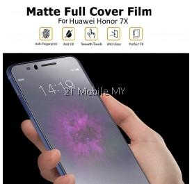 Huawei Honor 7X Matte Anti-Fingerprint Full Coverage 3D Screen Protector
