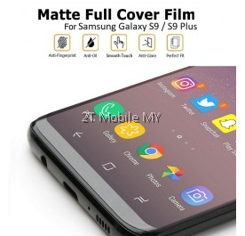 Samsung S20 Plus / S20 Ultra / S20+ / S9 / S9 Plus Matte Anti-Fingerprint Full Coverage 3D Screen Protector