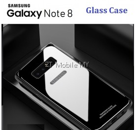 Samsung Galaxy Note 8 Full Cover Tempered Glass Phone Case Bumper Cover