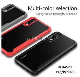 Huawei P20 Tough Protection Transparent Bumper Case Cover