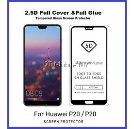 Huawei P20 / P20 Pro Full Glue Coverage Tempered Glass Screen Protector