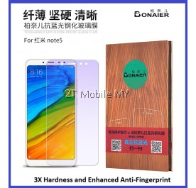 XiaoMi RedMi Note 5 Anti Bluelight Twin Pack BONAIER Tempered Glass