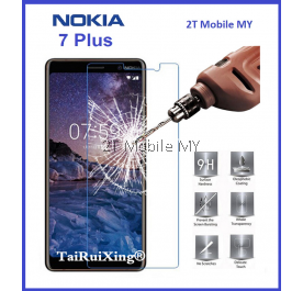 Nokia 7 Plus Tempered Glass Screen Protector 2.5D