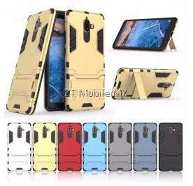 Nokia 7 Plus Ironman Transformer Kickstand Case Bumper Cover