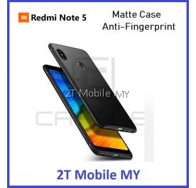 XiaoMi RedMi Note 5 Matte Frosted Case Silk Smooth Bumper Cover
