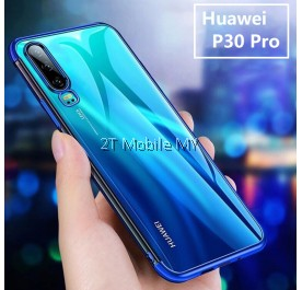 Huawei P30 Pro / P20 / P20 Pro Trendy Electroplating Edge TPU Cover Bumper Case