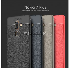 Nokia 7 Plus Dermatoglyph Case Cover Matte Anti-Fingerprint Bumper