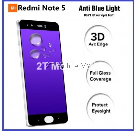 XiaoMi RedMi Note 5 FULL PE Blue Light Tempered Glass Screen Protector