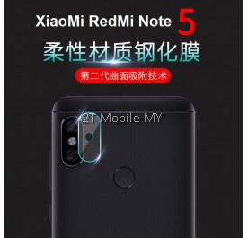 XiaoMi RedMi Note 5 Camera Tempered Glass Soft Screen Protector