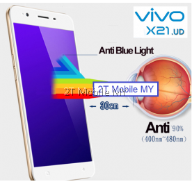 Vivo X21 FULL PE Blue Light Tempered Glass Screen Protector