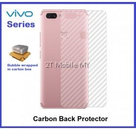 Vivo X21 Vivo V9 Back Carbon Matte Film Screen Protector