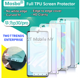 Huawei P30 / P30 Pro / P20 / P20 Pro 3D No White Edge Full Coverage Screen Protector