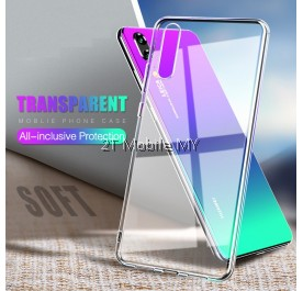 Huawei Nova 3e Soft Transparent Case Slim TPU Cover