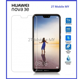 Huawei Nova 3e Tempered Glass Screen Protector 2.5D