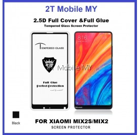 XiaoMi Mi Mix 2S Full Glue Coverage Colour Tempered Glass Screen Protector