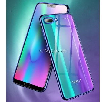 Huawei Honor 10 Trendy Electoplating Edge TPU Cover Bumper Case