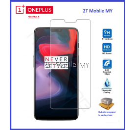 OnePlus 6 1+6 Tempered Glass Screen Protector 2.5D