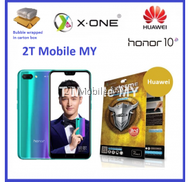 Huawei Honor 10 X-One Extreme Shock Eliminator Screen Protector 3rd Gen