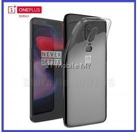 OnePlus 6 1+6 Soft Transparent Case Slim TPU Cover