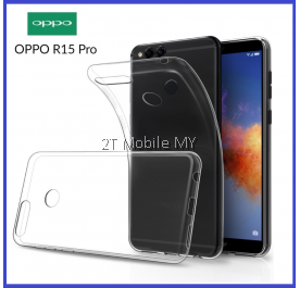 Oppo R15 Pro Soft Transparent Case Slim TPU Cover