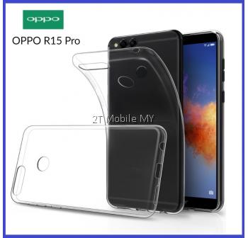 Oppo R15 Pro Soft Transparent Case Slim TPU Cover