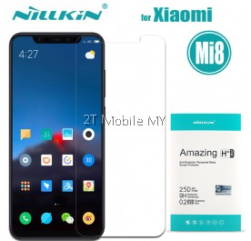 XiaoMi Mi8 Nillkin H PLUS PRO 0.2MM Tempered Glass Screen Protector