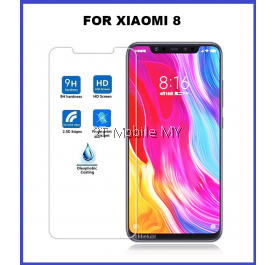XiaoMi Mi8 Tempered Glass Screen Protector 2.5D