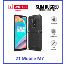 OnePlus 6 1+6 Slim Protection Rugged Armor Bumper TPU Case Cover