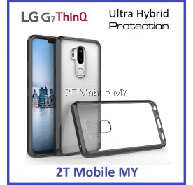 (PROMO) LG G7 ThinQ Air Hybrid TPU Case Slim Bumper Fusion Cover