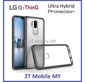 (PROMO) LG G7 ThinQ Air Hybrid TPU Case Slim Bumper Fusion Cover
