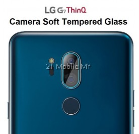 LG G7 ThinQ Camera Tempered Glass Soft Screen Protector